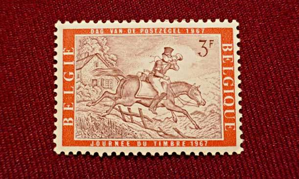postiljon te paard